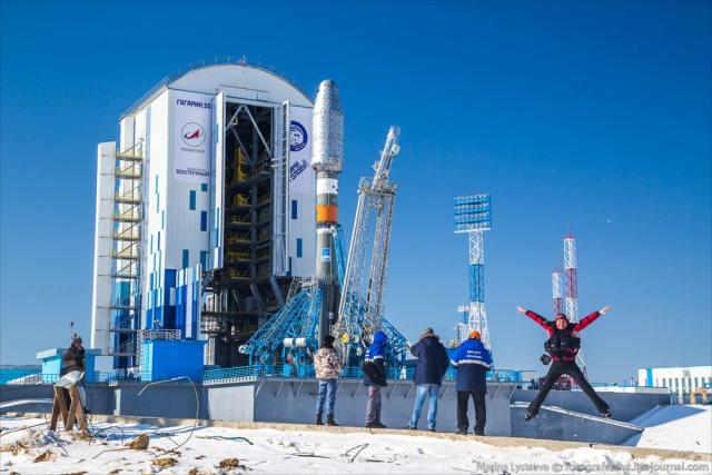 Космос: Блог им. Sarfis: Первый запуск ракеты с космодрома «Восточный»