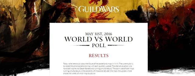 Guild Wars 2: Игроки решат, что будет с картами для WvW