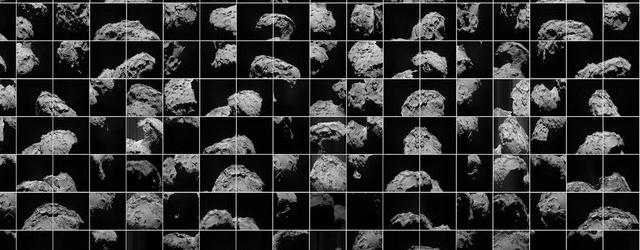Космос: Комета Чурюмова - Герасименко