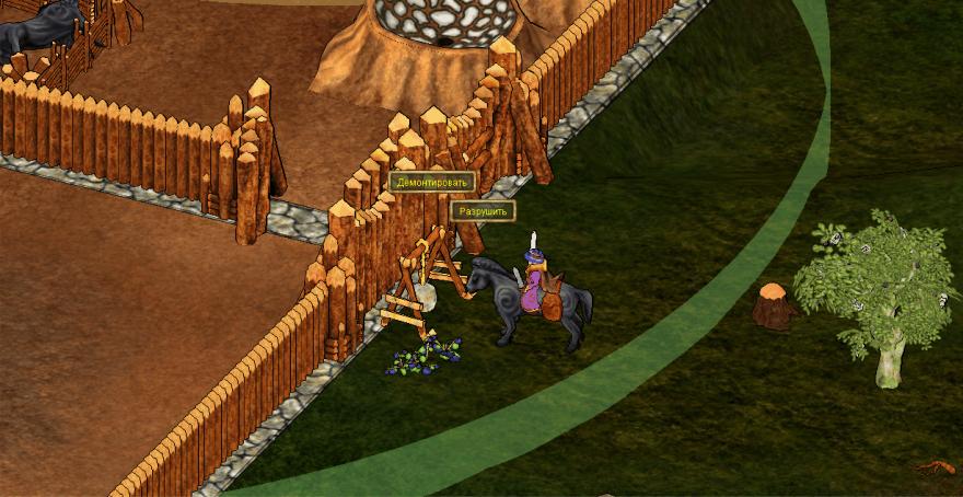 Haven and Hearth: Про то как я штурмовал крепость, чтобы спасти лошадку