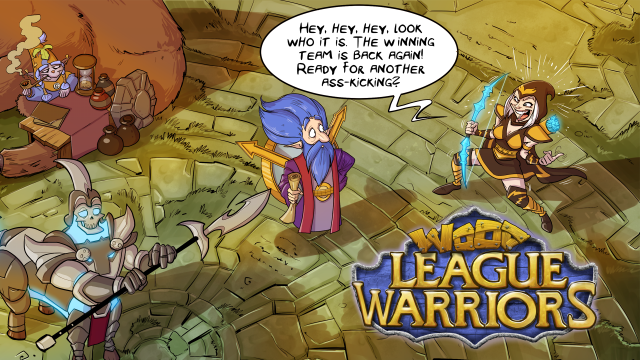 League of Legends: Деревянная лига : Части 1-3