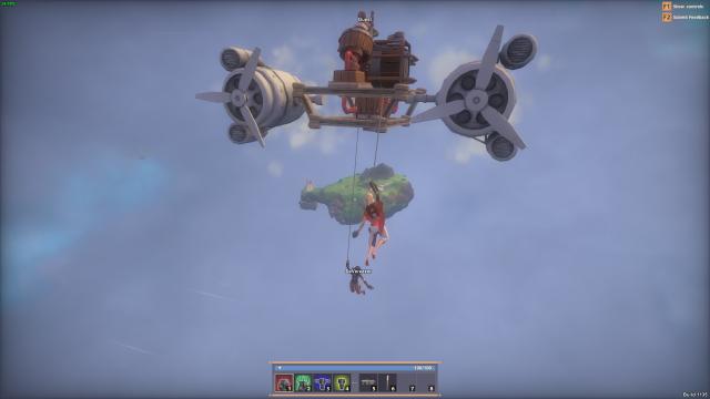 Worlds Adrift: Не летайте, дети, за края гулять: постройка корабля в картинках и немного о том, как его потерять.