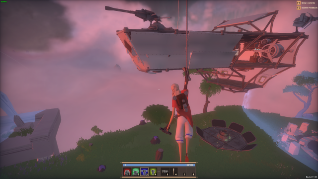 Worlds Adrift: Не летайте, дети, за края гулять: постройка корабля в картинках и немного о том, как быстро его потерять.