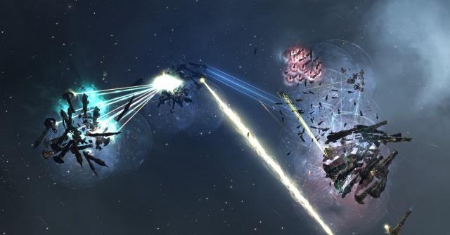 EVE Online: Общая картина боя.