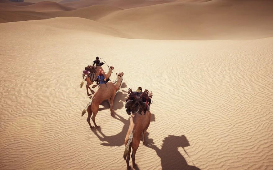 Black Desert: Заметки таксиста, или путешествие по Черной Пустыне