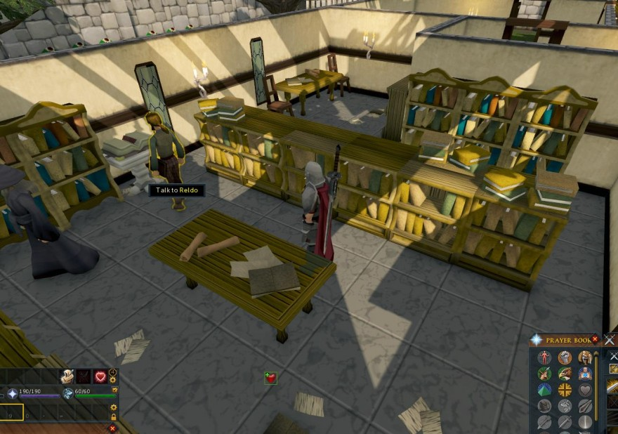 RuneScape: Черничный пирог и меч (условно)
