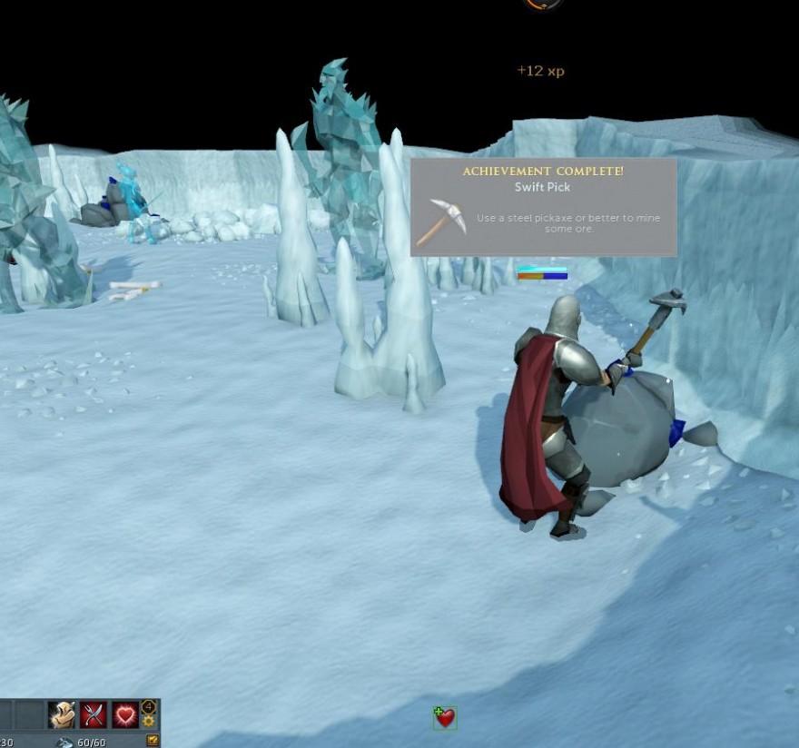 RuneScape: Сталь, лёд и черничный пирог