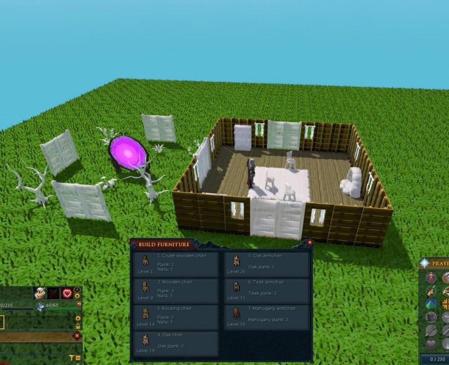 RuneScape: Что нам стоит дом построить?