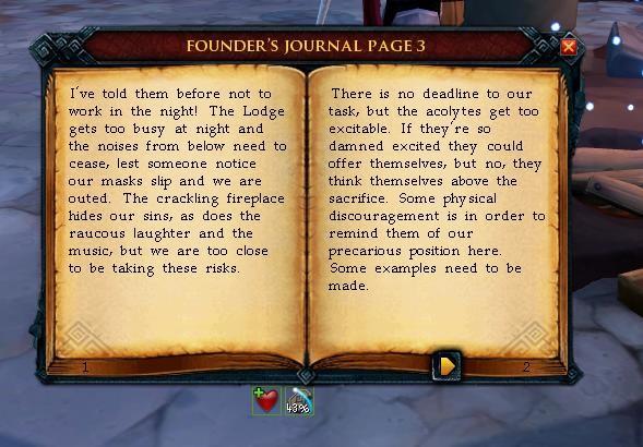 RuneScape: Культ адского источника.