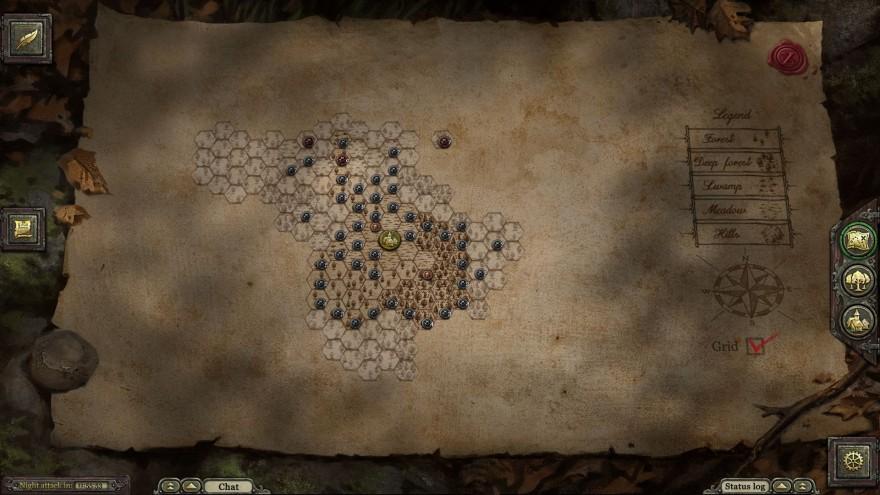 неММО: Карта
