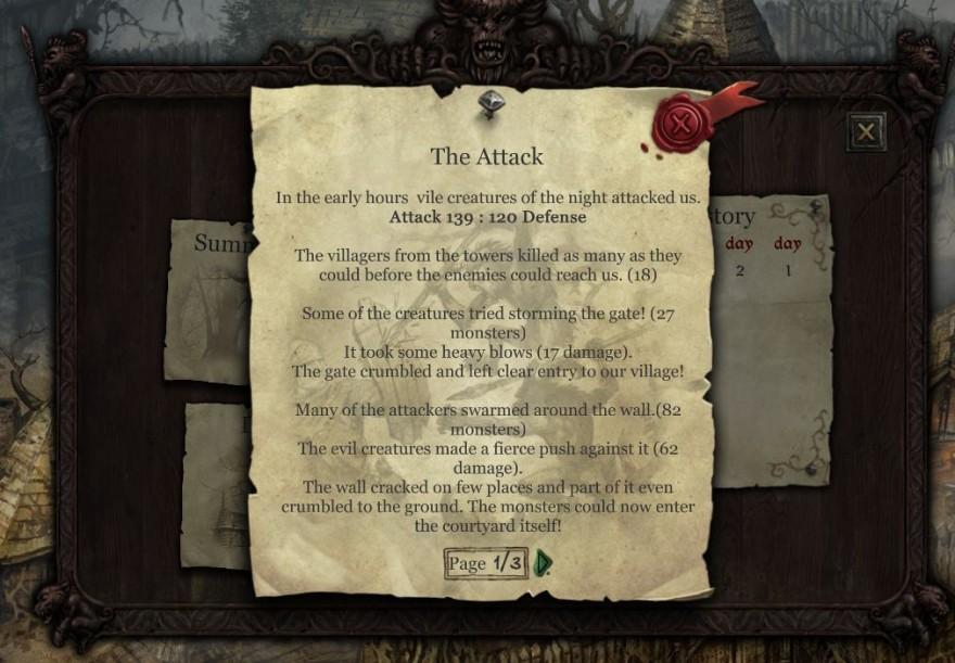 неММО: Отчет об атаке