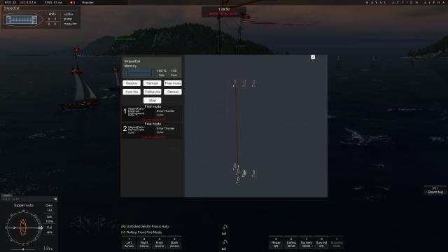 Naval Action: Отдаем приказы