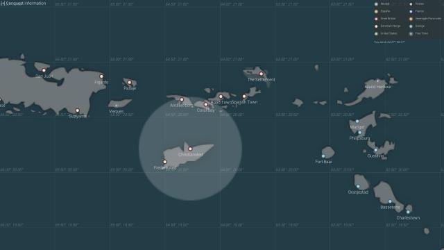 Naval Action: Карта
