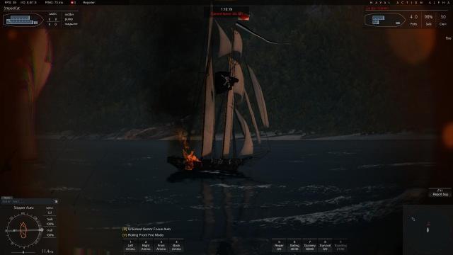 Naval Action: Не хотел бы быть на его месте