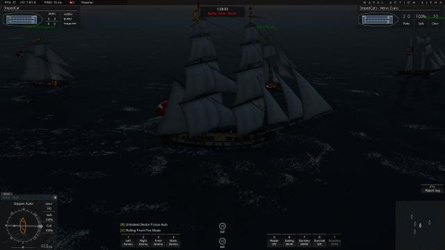 Naval Action: Дружеский флот
