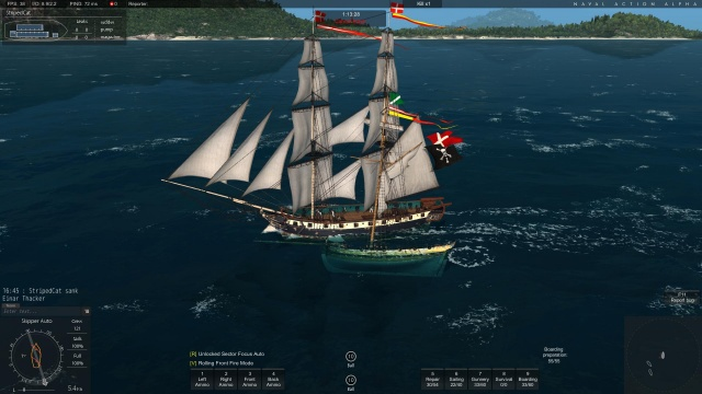 Naval Action: Вместо абордажа вышел таран