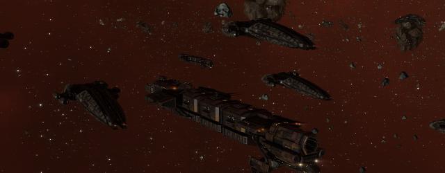 EVE Online: Флоты NPC-майнеров