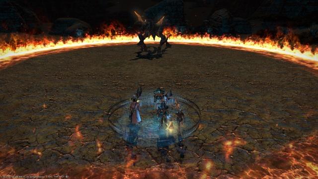 Final Fantasy XIV: Первый триал