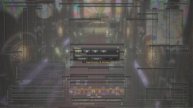 Final Fantasy XIV: Настройка интерфейса
