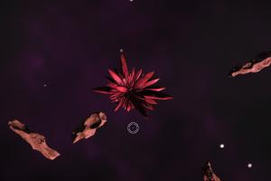 Иридий в космосе