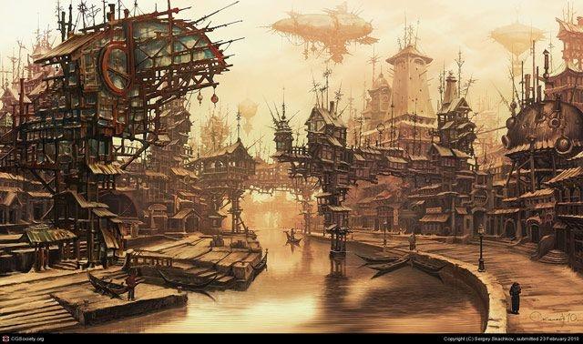 Игровая индустрия: Блог им. Minamikaze: О необычных темах. Часть 1: Редкие миры.