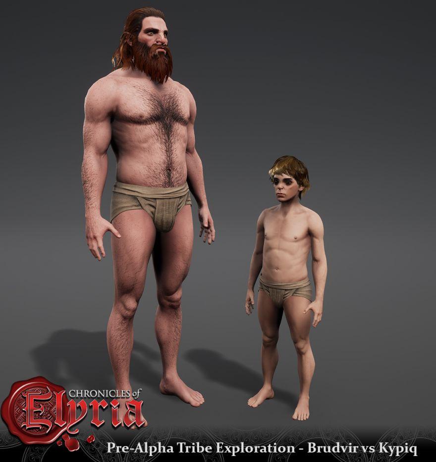 Chronicles of Elyria: Исследование племен: Кипикский мужчина
