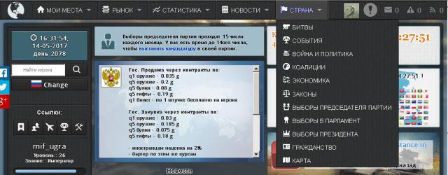 Браузерные Игры: В защиту презираемых браузерок на примере E-sim.org
