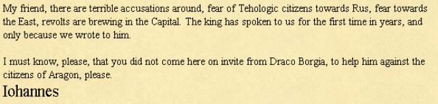 Браузерные Игры: Письмо в Medieval Europe