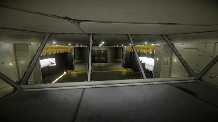 Space Engineers: Блог им. ADireWolf: Внутри контрольного центра ангара