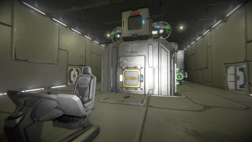 Space Engineers: Блог им. ADireWolf: Автономное сердце корабля