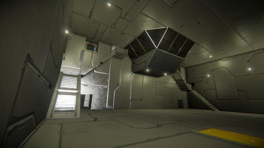 Space Engineers: Блог им. ADireWolf: Контрольный центр ангара