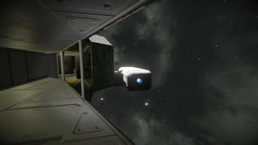 Space Engineers: Блог им. ADireWolf: Боковые окна