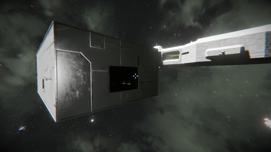 Space Engineers: Блог им. ADireWolf: Авианосец. Начало