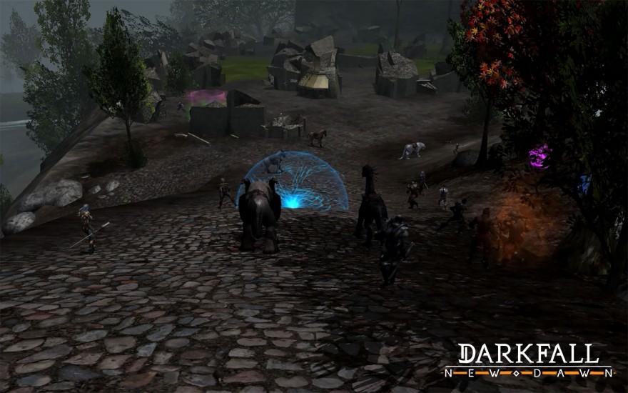 DarkFall: Игровое обновление 2.1 Некромантия и другие изменения в заклинаниях