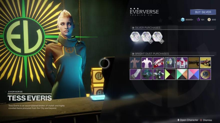 Destiny 2: Destiny II: Tess Everiss