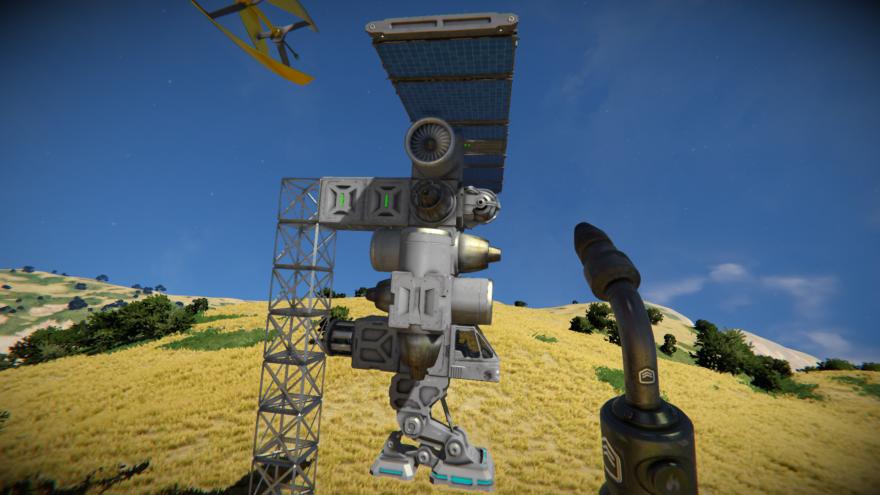 Space Engineers Корабль для поиска руды