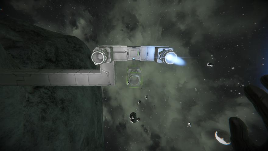 Space Engineers Ионный двигаель