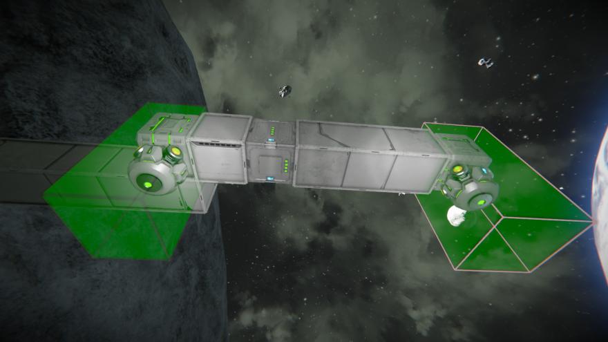 Space Engineers Гравитационный двигатель