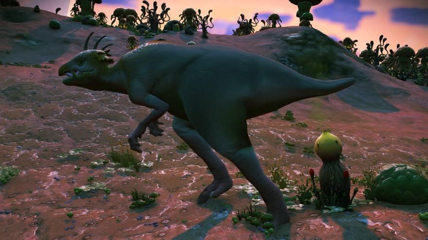 No Man's Sky: Блог им. CMEPTHuK: К вопросу обещанных динозавров