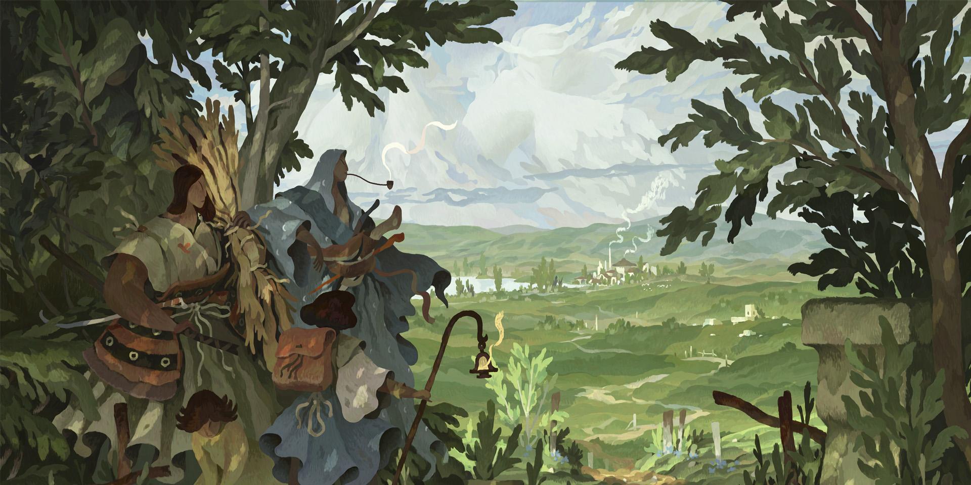 Book of Travels: Полчаса геймплея с авторскими комментариями