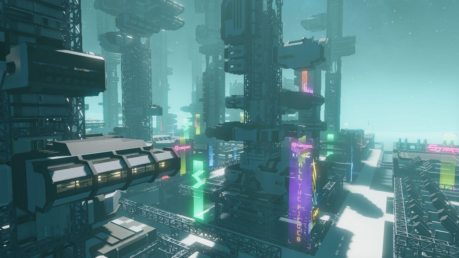 Starbase: Начальная зона и создание корабля