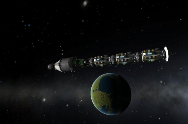 "Kerbal Space Program: Проект ""Snowball"" (4): Радиосвязь, практика"