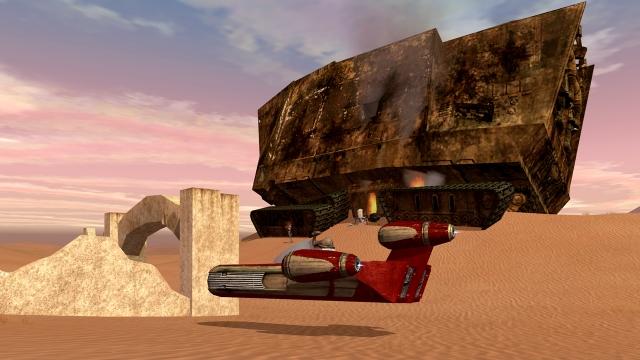 Star Wars Galaxies: С ветерком по Татуину