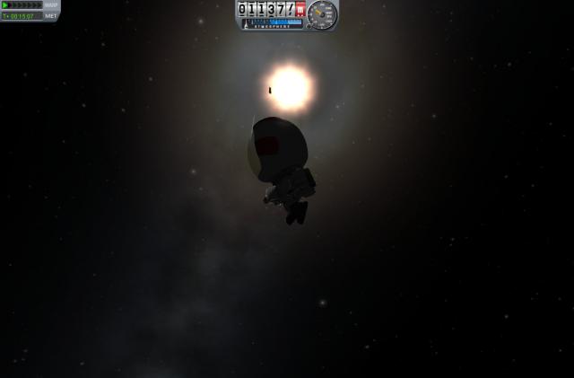 """Kerbal Space Program: Проект """"Snowball"""" (6): Прикосновение к темноте"""