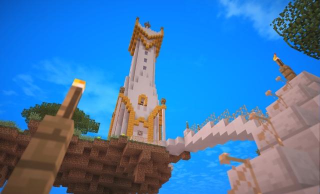 Minecraft: Little Big Block: Башня Амарриты