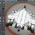 """Прототип внутрисистемного корабля """"Tiger"""" с подвесными разгонными блоками - первый отстрел при переходе на форсаж, второй после выработки."""