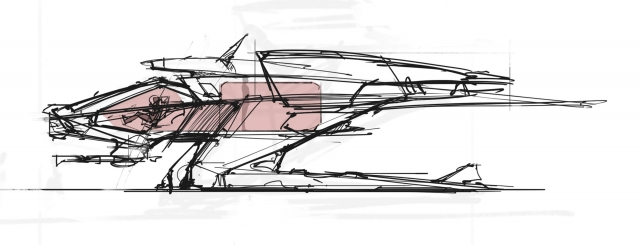 Star Citizen: Галерея: Концепт-арты корабля Mustang