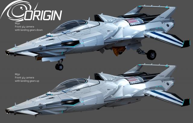 Star Citizen: Кокпиты кораблей Aurora, Origin 300 Series, Hornet F7C. Концепция Origin M50.