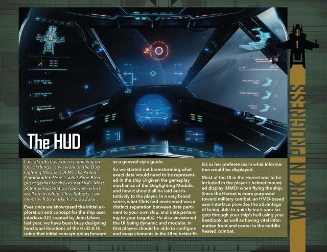Star Citizen: В Разработке: HUD для Arena Commander