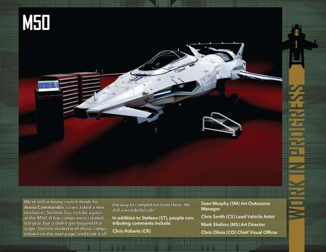 Star Citizen: В Разработке: M50 от Origin